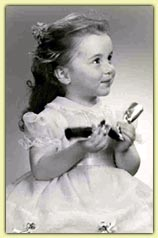 Karyn at the age of 3